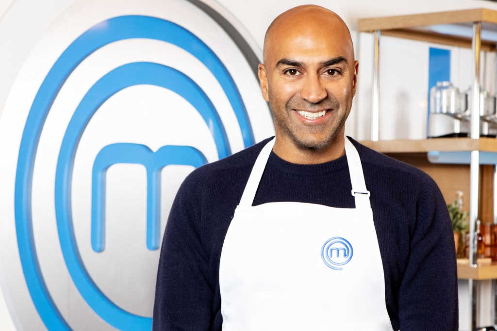 Stars and their eyes… celebrity MasterChef Amar Latif